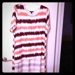 Lane Bryant stripe blouse